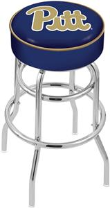 University of Pittsburgh Double-Ring Bar Stool