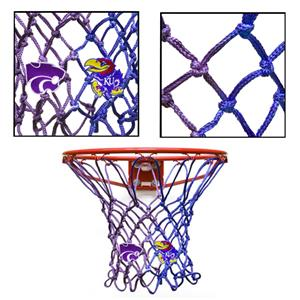 Krazy Netz House Divided KU/KSU Basketball Net