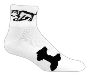Red Lion Dogs High Tech 1/4 Crew Socks