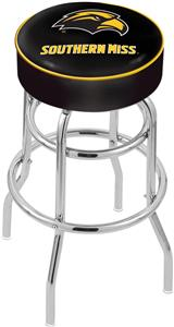 Univ of Southern Mississippi Double-Ring Bar Stool