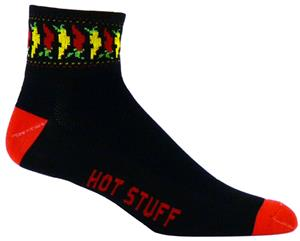 Red Lion Chili Peppers-Hot Stuff 1/4 Crew Socks