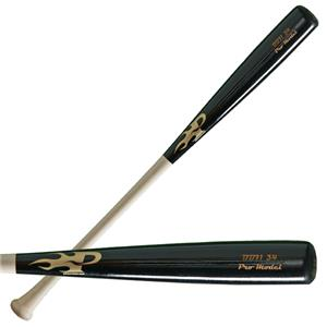 Phoenix Bat BB71 Black Barrel Wood Baseball Bats