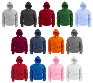 Soffe Youth Basic Hooded Sweatshirts