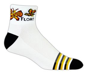Red Lion Float-Sting High Tech 1/4 Crew Socks