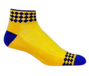 Red Lion Jester Diamond Low Cut Crew Socks