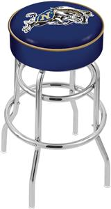 US Naval Academy Double-Ring Bar Stool