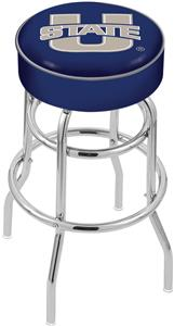 Utah State University Double-Ring Bar Stool