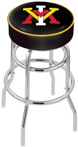 Virginia Military Institute Double-Ring Bar Stool
