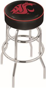Washington State University Double-Ring Bar Stool