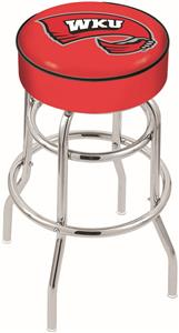 Western Kentucky University Double-Ring Bar Stool