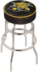 Wichita State University Double-Ring Bar Stool