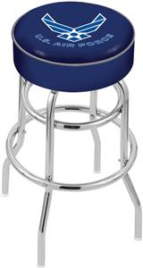 United States Air Force Double-Ring Bar Stool