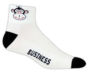 Red Lion Monkey Business High Tech 1/4 Crew Socks