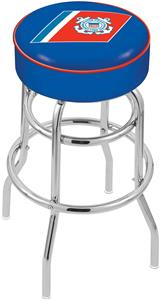 United States Coast Guard Double-Ring Bar Stool
