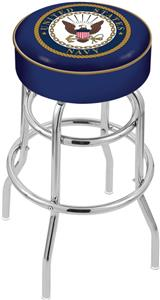 United States Navy Double-Ring Bar Stool