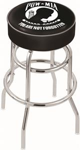 Holland Military POW/MIA Double-Ring Bar Stool