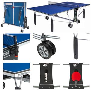 Cornilleau sport 250 blue indoor ping pong table playground equipment and gear - Mini table de ping pong cornilleau ...