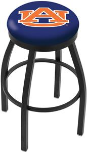 Holland Auburn Univ Flat Ring Blk Bar Stool