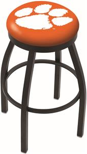Holland Clemson Flat Ring Blk Bar Stool
