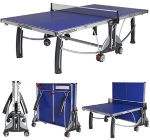 Cornilleau sport 500m blue outdoor ping pong table - Cornilleau outdoor table tennis cover ...