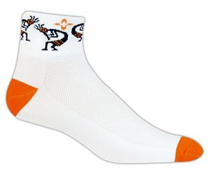 Red Lion Kokopelli High Tech 1/4 Crew Socks