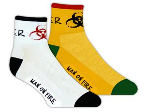 Red Lion Danger High Tech 1/4 Crew Socks
