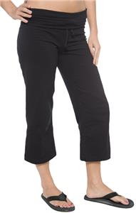 In Your Face Apparel Jr Drawstring Capri Yoga Pant