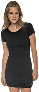 In Your Face Apparel Juniors Cap Sleeve Dress