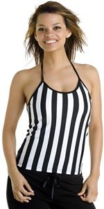 In Your Face Apparel Junior Ref Spaghetti Halter