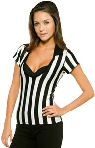 In Your Face Apparel Junior Deep Scoop Ref Shirt