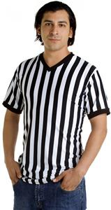 In Your Face Apparel Mens V-Neck Ref Shirt