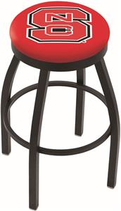North Carolina State Univ Flat Ring Blk Bar Stool