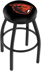 Oregon State University Flat Ring Blk Bar Stool