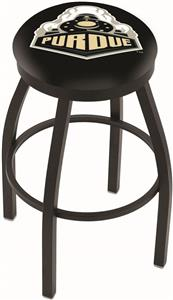 Holland Purdue Flat Ring Blk Bar Stool