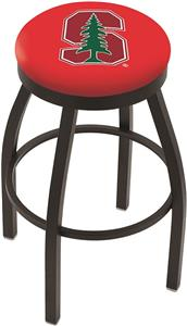 Holland Stanford Univ Flat Ring Blk Bar Stool