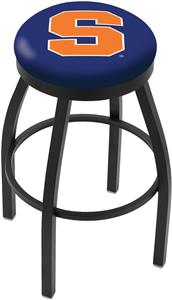 Holland Syracuse Univ Flat Ring Blk Bar Stool
