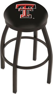 Texas Tech University Flat Ring Blk Bar Stool