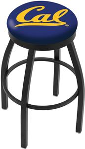 University of California Flat Ring Blk Bar Stool