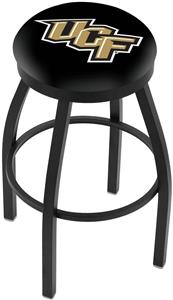 Univ of Central Florida Flat Ring Blk Bar Stool