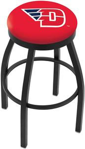 University of Dayton Flat Ring Blk Bar Stool