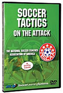 Soccer Tactics On the Attack (DVD) training videos