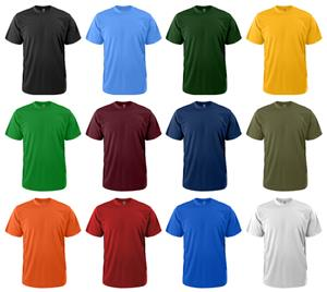 Soffe Youth Short Sleeve Dri Tee Shirts