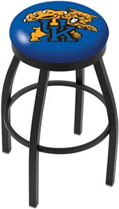 University of Kentucky Cat Flat Ring Blk Bar Stool