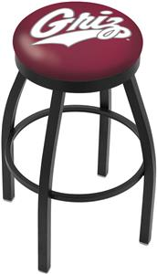 University of Montana Flat Ring Blk Bar Stool