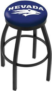 University of Nevada Flat Ring Blk Bar Stool