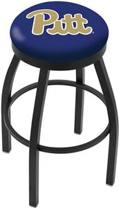 University of Pittsburgh Flat Ring Blk Bar Stool
