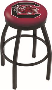 Univ of South Carolina Flat Ring Blk Bar Stool