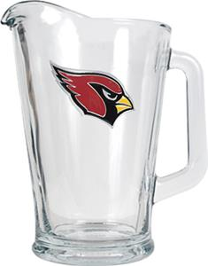 NFL Arizona Cardinals 1/2 Gallon Glass Pitcher