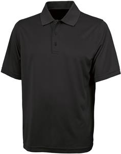 Charles River Men's Smooth Knit Solid Wicking Polo