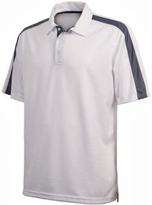 Charles River Adult Color Blocked Smooth Knit Polo
